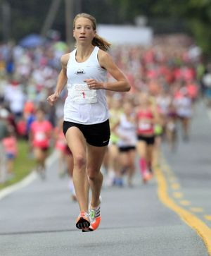 Another record-setting run for Ward at the Charlottesville Women's Four Miler