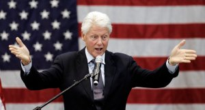Clinton to stump for Michaud as gubernatorial contest ramps up