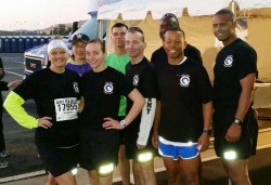 1st TSC runners finish Army strong in 10-mile road race